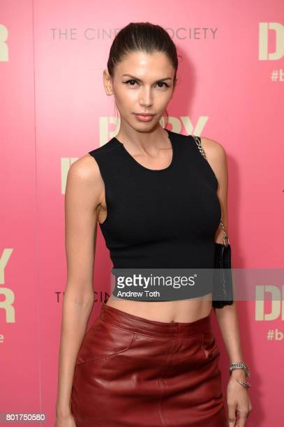 Alejandra Cata attends a screening of 'Baby Driver' hosted by TriStar Pictures and The Cinema Society at The Metrograph on June 26 2017 in New York...