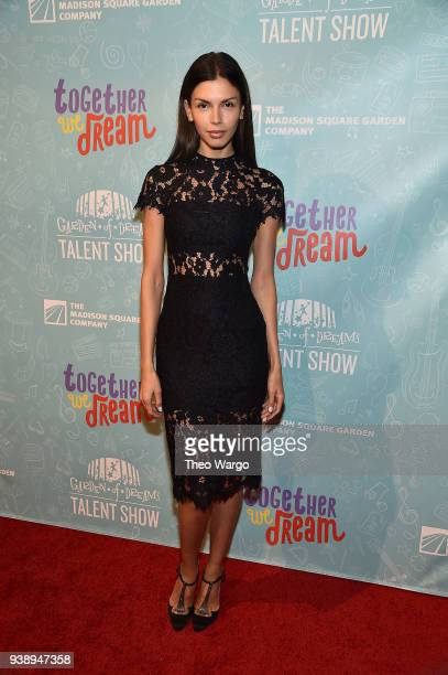 Alejandra Cata attends Garden Of Dreams Foundation's 12th Annual Talent Show at Radio City Music Hall on March 27 2018 in New York City