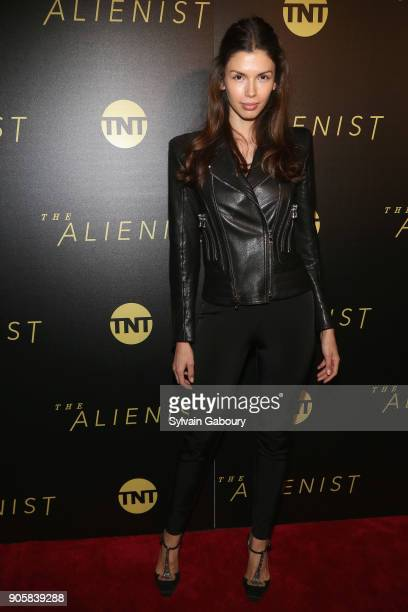 Alejandra Cata attends New York Premiere of TNT's 'The Alienist' on January 16 2018 in New York City