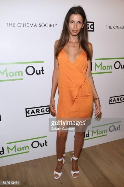 Alejandra Cata attends The Cinema Society Kargo host the Season 3 Premiere of Bravo's 'Odd Mom Out' on July 11 2017 in New York City