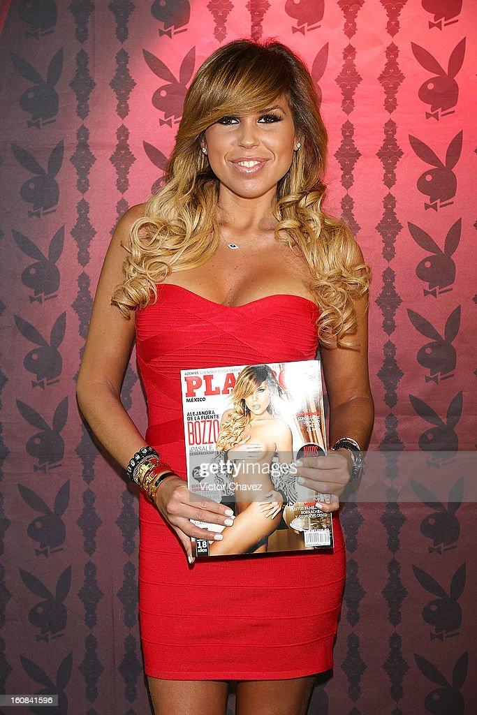 Playboy Mexico Magazine February 2013 Issue With Alejandra De La Fuente : Fotografía de noticias