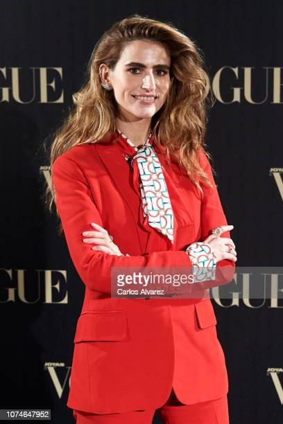 Alejandra Dominguez attends the Vogue Joyas awards 2018 at Palacio de Santoña on November 29 2018 in Madrid Spain