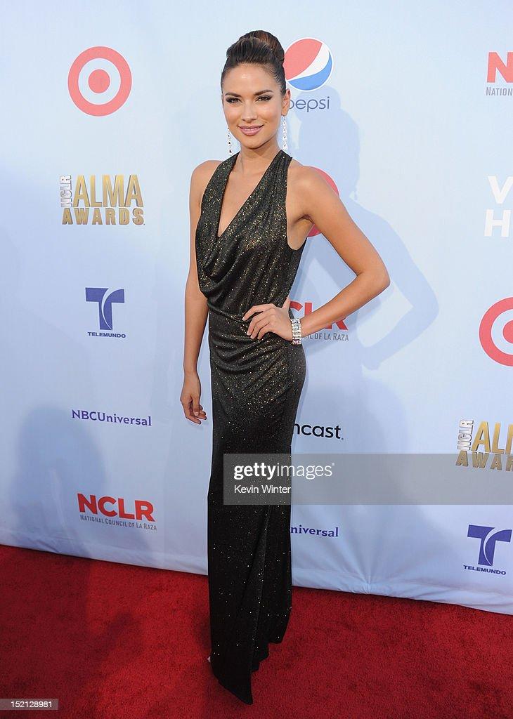Alejandra Espinoza arrives at the 2012 NCLR ALMA Awards at Pasadena Civic Auditorium on September 16, 2012 in Pasadena, California.