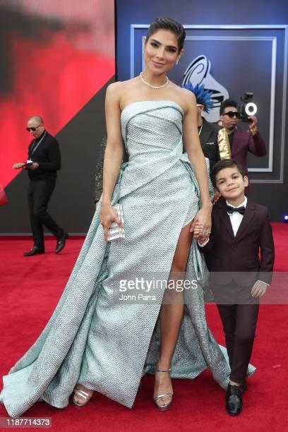 Alejandra Espinoza attends the 20th annual Latin GRAMMY Awards at MGM Grand Garden Arena on November 14 2019 in Las Vegas Nevada