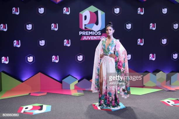 Alejandra Espinoza attends the Univision's Premios Juventud 2017 Celebrates The Hottest Musical Artists And Young Latinos ChangeMakers at the Watsco...