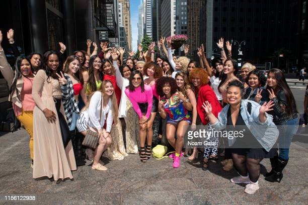 Alejandra Espinoza attends Univision's Reina de la Cancion Auditions at Westin Grand Central on June 15 2019 in New York City