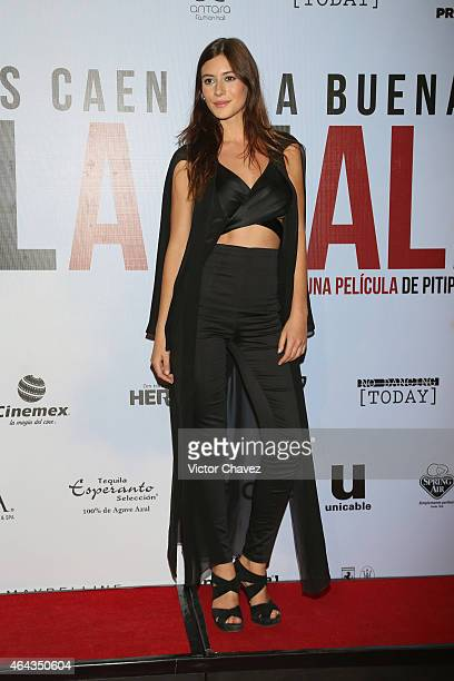 "Alejandra Guilmant attends ""A La Mala"" Mexico City premiere at Cinepolis Antara Polanco on February 24, 2015 in Mexico City, Mexico."
