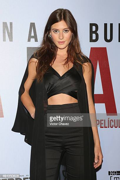 Alejandra Guilmant attends 'A La Mala' Mexico City premiere at Cinepolis Antara Polanco on February 24 2015 in Mexico City Mexico