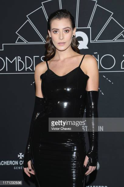 "Alejandra Guilmant attends the black carpet of the ""GQ Hombres del Año 2019"" at Fronton Mexico on September 25, 2019 in Mexico City, Mexico"