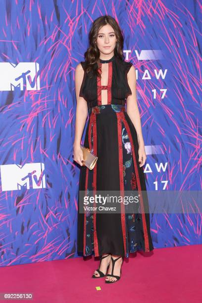 Alejandra Guilmant attends the MTV MIAW Awards 2017 at Palacio de Los Deportes on June 3 2017 in Mexico City Mexico