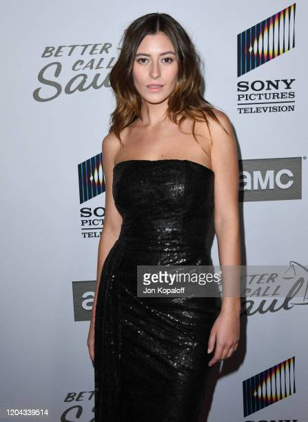 Alejandra Guilmant attends the premiere of AMC's Better Call Saul Season 5 at ArcLight Cinemas on February 05 2020 in Hollywood California