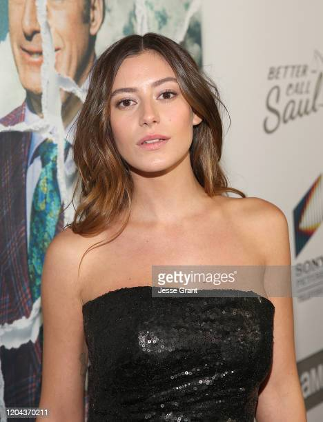 Alejandra Guilmant attends the premiere of AMC's Better Call Saul Season 5 on February 05 2020 in Los Angeles California