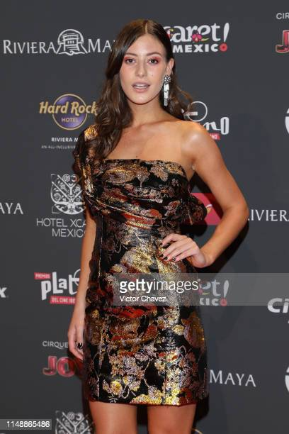 Alejandra Guilmant attends the red carpet of the Premios Platino 2019 at Occidental Xcaret Hotel on May 12, 2019 in Playa del Carmen, Mexico.