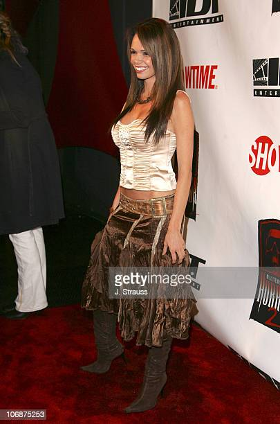 Alejandra Gutierrez during 'Masters of Horror' Season 2 Hollywood Launch Party at The Ivar in Hollywood California United States