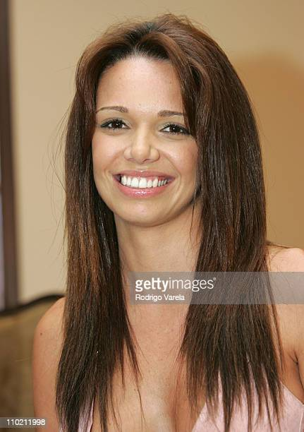 Alejandra Gutierrez during Press Conference Announcing the Premios Inte Awards at Biltmore Hotel in Coral Gables Florida United States