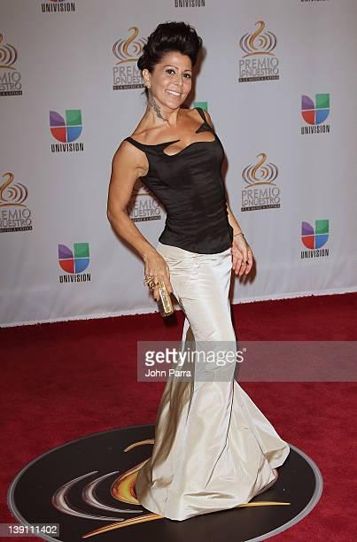 Alejandra Guzman arrives at the Premio Lo Nuestro a La Musica Latina at American Airlines Arena on February 16, 2012 in Miami, Florida.
