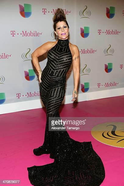 Alejandra Guzman attends Premio Lo Nuestro a la Musica Latina 2014 at American Airlines Arena on February 20 2014 in Miami Florida