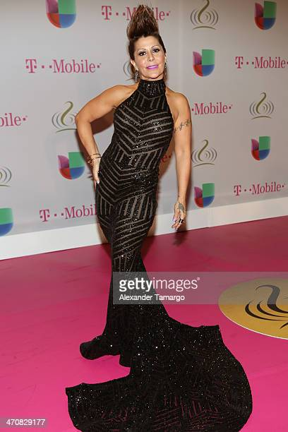 Alejandra Guzman attends Premio Lo Nuestro a la Musica Latina 2014 at American Airlines Arena on February 20 2014 in Miami Florida