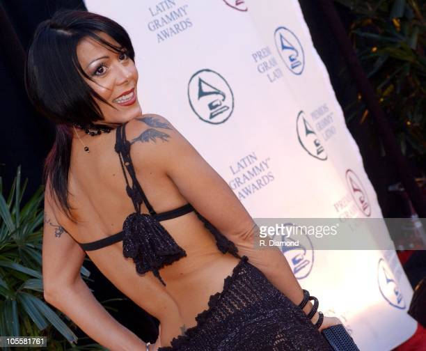 Alejandra Guzman during 2004 Latin Recording Academy Person of the Year Tribute Event Honoring Carlos Santana at Century Plaza Hotel in Los Angeles,...