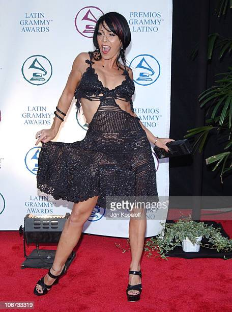 Alejandra Guzman during 2004 Latin Recording Academy Person of the Year Tribute Event Honoring Carlos Santana Arrivals at The Century Plaza Hotel in...