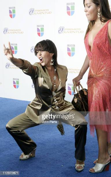 Alejandra Guzman during 2006 Premios Juventud Awards Arrivals at University of Miami BankUnited Center in Miami Florida United States
