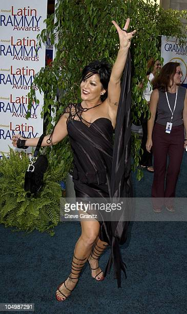 Alejandra Guzman during 3rd Annual Latin GRAMMY Awards Arrivals at Kodak Theatre in Hollywood California United States