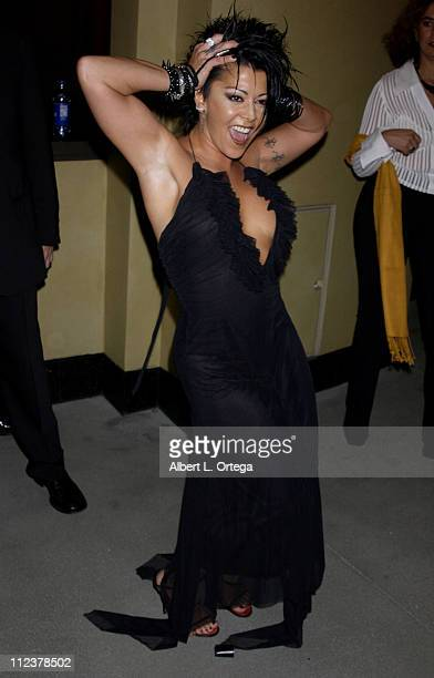 Alejandra Guzman during 3rd Annual Latin GRAMMY Awards - LARAS Person Of The Year: Vicente Fernandez - Arrivals at Kodak Theater in Hollywood,...