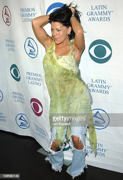 Alejandra Guzman during 5th Annual Latin Grammy Nominations Press Conference at The Mayan in Los Angeles California United States