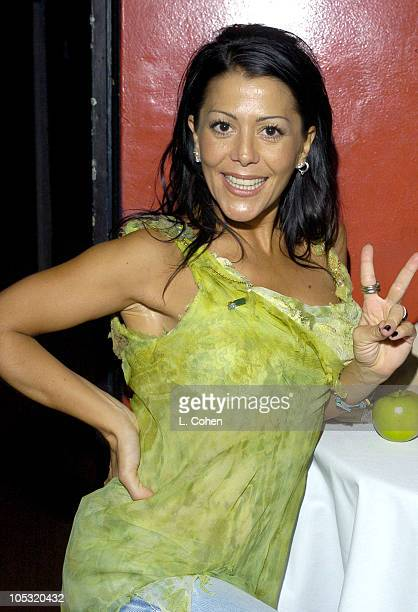 Alejandra Guzman during The 5th Annual Latin Grammy Awards Nominations Green Room at The Mayan in Los Angeles California United States