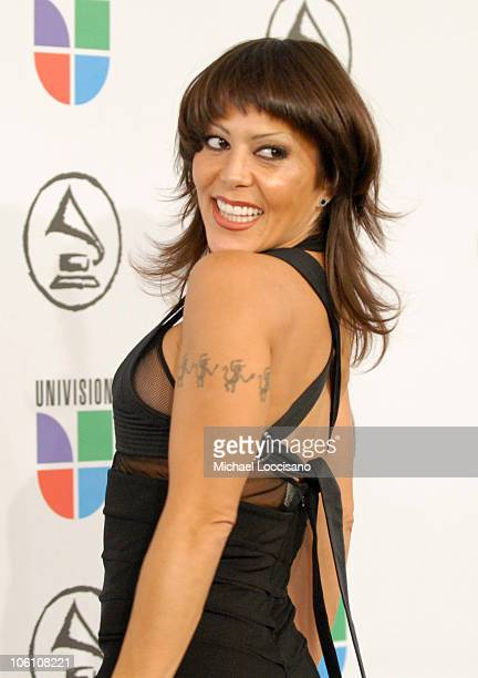 Alejandra Guzman during The 7th Annual Latin GRAMMY Awards Arrivals at Madison Square Garden in New York City New York United States