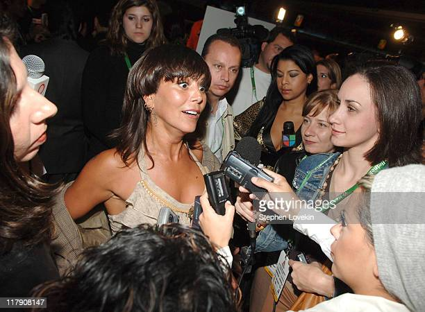Alejandra Guzman during The 7th Annual Latin GRAMMY Awards - Nominations Ceremony - Press Conference at The Theater at Madison Square Garden in New...
