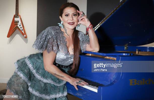 Alejandra Guzman portrait session during her New Single Release Soy Asi at Gibson Showroom on October 15 2018 in Miami Florida