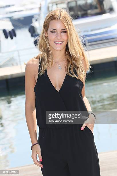 Alejandra Onieva attends Dalia De Las Hadas Photocall as part of MIPTV 2015 on April 13 2015 in Cannes France