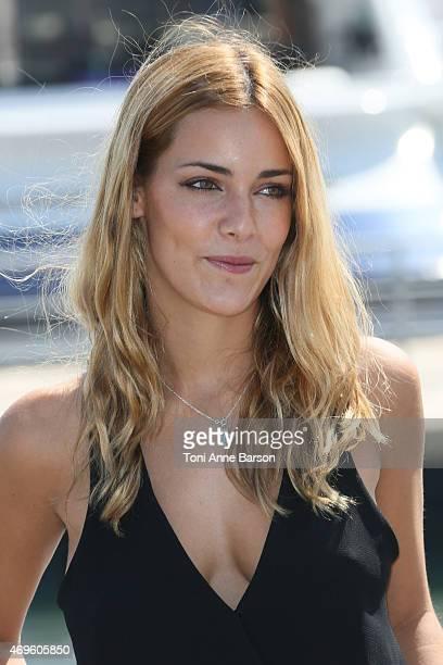 Alejandra Onieva attends Dalia De Las Hadas Photocall as part of MIPTV 2015 on April 13 2015 in Cannes France