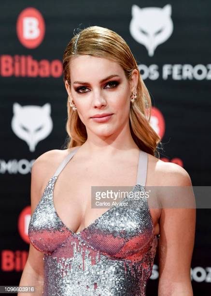 Alejandra Onieva attends during Feroz awards red carpet on January 19 2019 in Bilbao Spain