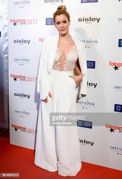 Alejandra Onieva attends 'Fotogramas Awards' at Joy Eslava on February 26 2018 in Madrid Spain
