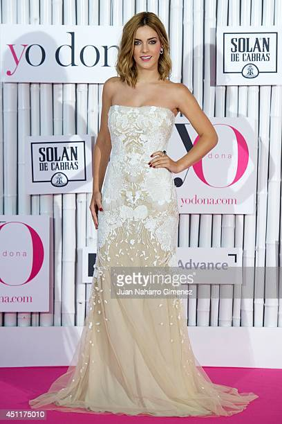Alejandra Onieva attends 'IX International Yo Dona Awards' at Zarzuela Hippodrome on June 24 2014 in Madrid Spain