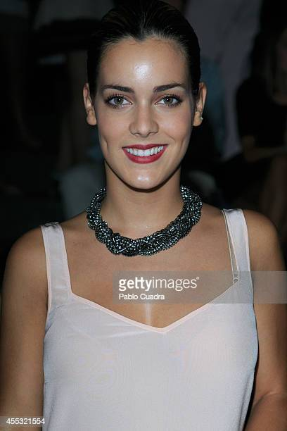 Alejandra Onieva attends Mercedes Benz Fashion Week Madrid at Ifema on September 12 2014 in Madrid Spain