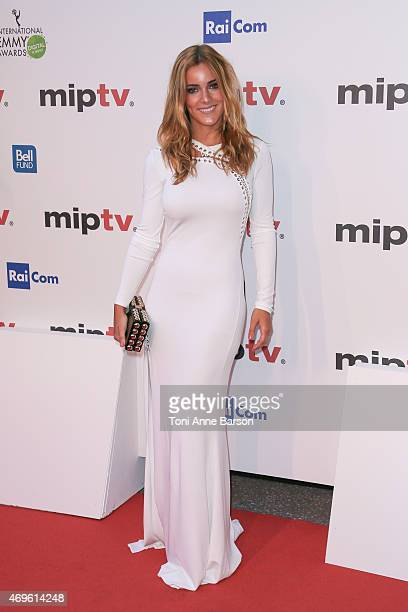 Alejandra Onieva attends MIPTV opening party as part of MIPTV 2015 on April 13 2015 in Cannes France