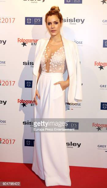 Alejandra Onieva attends the 'Fotogramas Awards 2018' at Joy Eslava on February 26 2018 in Madrid Spain
