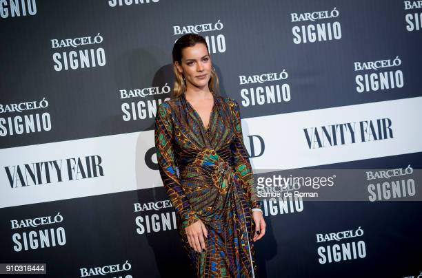Alejandra Onieva attends the 'Generacion X' Party in Madrid on January 25 2018 in Madrid Spain