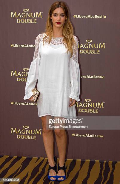 Alejandra Onieva attends the 'Magnum summer' photocall at Me hotel on June 15 2016 in Madrid Spain