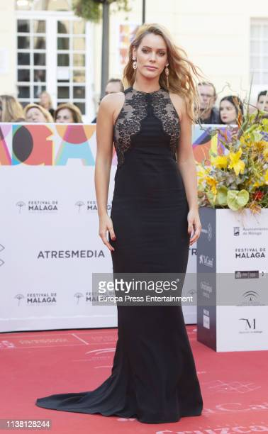 Alejandra Onieva attends the Malaga Film Festival 2019 closing day gala at Cervantes Theate on March 23 2019 in Malaga Spain