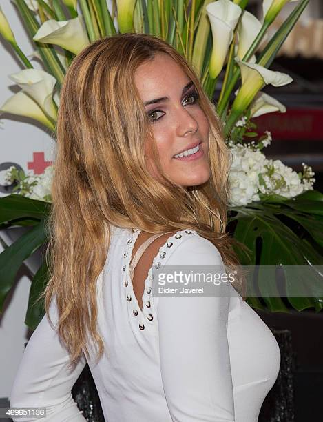 Alejandra Onieva attends the MIPTV 2015 opening party at Hotel Martinez on April 13 2015 in Cannes France