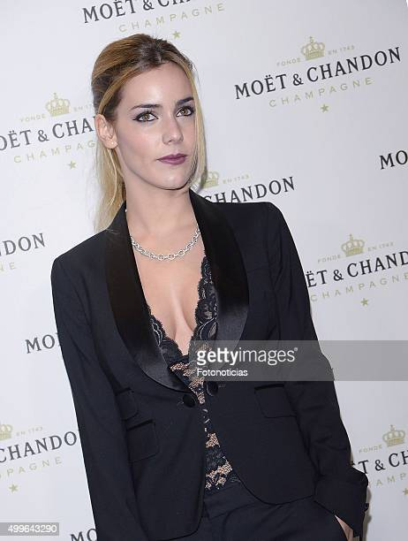 Alejandra Onieva attends the 'Moet Chandon' Party at the Circulo de Bellas Artes on December 2 2015 in Madrid Spain