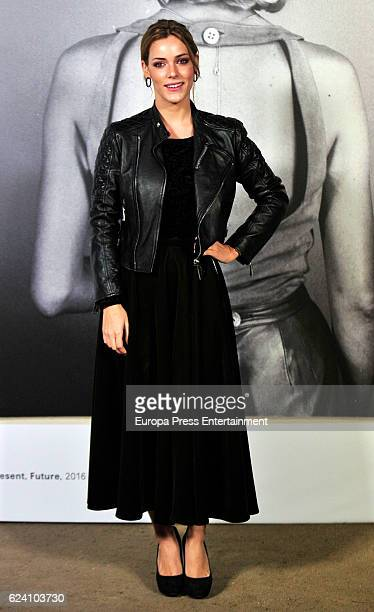 Alejandra Onieva attends the opening of the exhibition 'LOEWE Past Present Future' at Botanic Garden on November 17 2016 in Madrid Spain