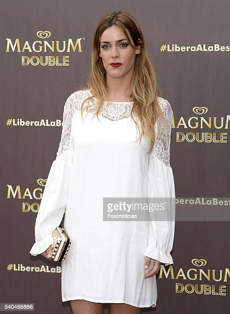Alejandra Onieva attends the presentation of Magnum summer campaign at the ME Hotel on June 15 2016 in Madrid Spain