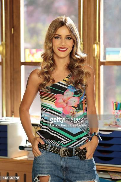 Alejandra Onieva attends the presentation of TV serie 'Ella es tu padre' on July 11 2017 in Navalcarnero Spain
