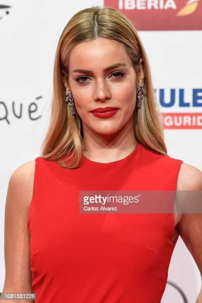 Alejandra Onieva attends the red carpet during 'Jose Maria Forque Awards' 2019 at Palacio de Congresos on January 12 2019 in Zaragoza Spain