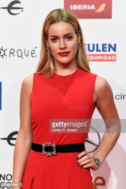 Alejandra Onieva attends the red carpet during 'Jose Maria Forque Awards' 2019 at Palacio de Congresos on January 12 2019 in Zaragoza Spain